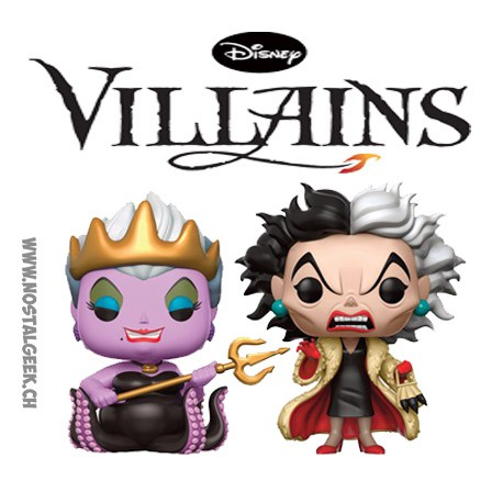Funko Pop! Disney Ursula et Cruella 2-PackExclusive