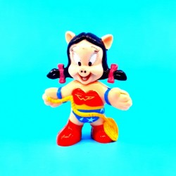 Looney Tunes Petunia Pig Wonder Woman Figurine d'occasion (Loose)