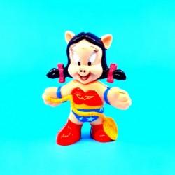Looney Tunes Petunia Pig Wonder Woman Figurine d'occasion (Loose)