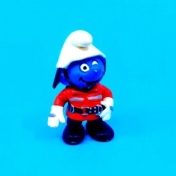 The Smurfs Fireman Smurf second hand Figure (Loose)