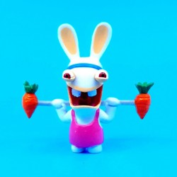 Raving Rabbids Sport weightlifter second hand figure (Loose)