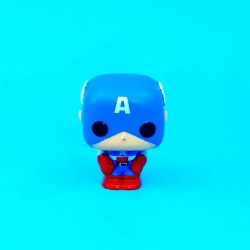 Funko Pop Pocket Captain America second hand figure (Loose)