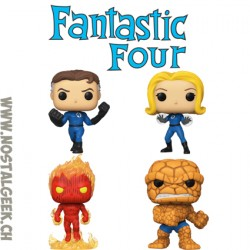 Funko Pop Marvel Fantastic Four Pack Vinyl Figure