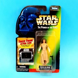 Star Wars - The Power of the Force Princess Leia Organa (in Ewok Celebration) second hand figure