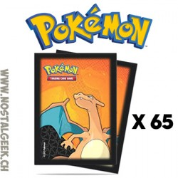 Pokemon Charizard 65 x Ultra Pro Trading Card Supplies Deck Protectors