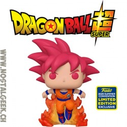 Funko Pop SDCC 2020 Dragon Ball Super SSG Goku Exclusive Vinyl Figure