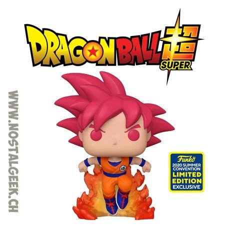 Funko Pop SDCC 2020 Dragon Ball Super SSG Goku Exclusive Vinyl Figure