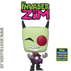 Funko Pop SDCC 2020 Invader Zim with Minimoose Edition Limitée