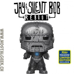 Funko Pop SDCC 2020 Jay and Silent Bob: Reboot Iron Bob Edition Limitée