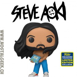 Funko Pop SDCC 2020 Rocks Steve Aoki Exclusive Vinyl Figure