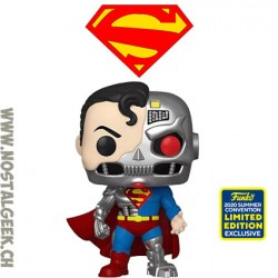 Funko Pop SDCC 2020 DC Cyborg Superman Exclusive Vinyl Figure