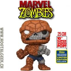 Funko Pop 25 cm SDCC 2020 Marvel Zombie - Zombie The Thing Edition Limitée
