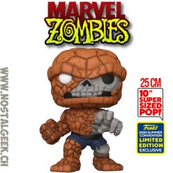 Funko Pop 25 cm SDCC 2020 Marvel Zombie - Zombie The Thing Exclusive Vinyl Figure