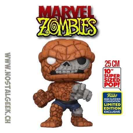 Funko Pop 25 cm SDCC 2020 Marvel Zombie - Zombie The Thing Exclusive Vinyl Figure