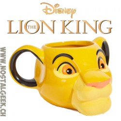 Disney Lion King Simba shaped mug