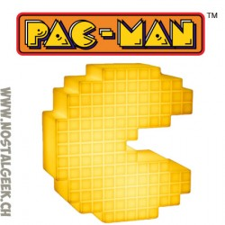 Pac-Man Classic Pixelated Style Lampe avec sons officiels
