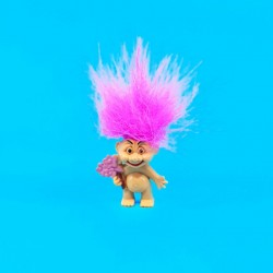Troll Flowers pink hair second hand figure (Loose)