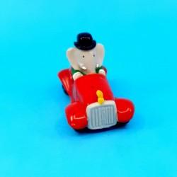 Babar - King Babar in car second hand figure (Loose)