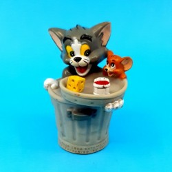 Tom & Jerry - poubelle Figurine d'occasion (Loose)