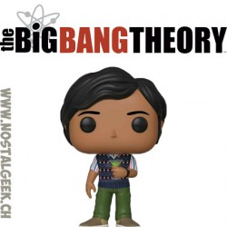 Funko Pop Television The Big Bang Theory Raj Koothrappali Vinyl Figure