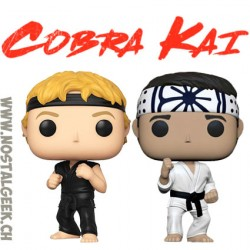 Funko Pop Pack Cobra Kai Daniel Larusso + Johnny Lawrence Vinyl Figures