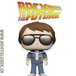 Funko Pop! Film Back to the Future Marty with Glasses