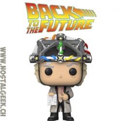 Funko Pop! Film Retour vers le futur Doc with Helmet Vinyl Figure