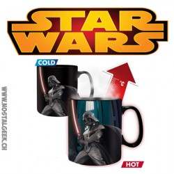 Verre Star Wars Darth Vader Mug thermo-réactif Dark Vador