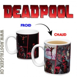 Marvel Deadpool Tasse Thermosensible