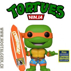 Funko Pop SDCC 2020 TMNT Michelangelo with Surfboard Exclusive Vinyl Figure