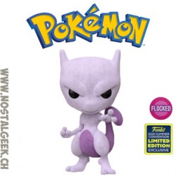 Funko Pop SDCC 2020 Pokemon Mewtwo (Flocked) Exclusive Vinyl Figure