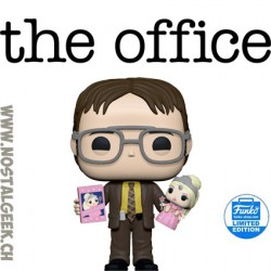 Funko Pop The Office Dwight Holding Doll Exclusive Vinyl Figure