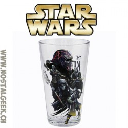 Star Wars Verre Kylo Ren and Knights of Ren glass