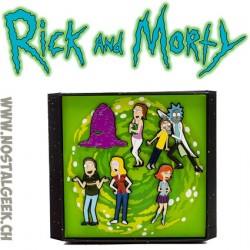 Rick And Morty S01E01 Pilote Pin Set