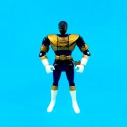 Power Rangers Black Ranger Flip Head Figurine articulée d'occasion (Loose)