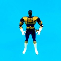 Power Rangers Black Ranger Flip Head second hand action figure (Loose)