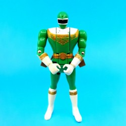 Power Rangers Green Ranger Flip Head second hand action figure (Loose)