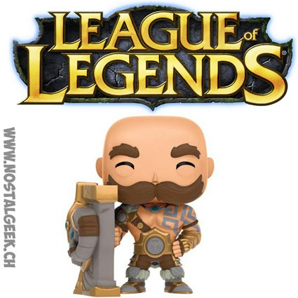 Toy Funko Pop Games League of Legends Braum geek suisse shop christmas
