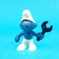 The Smurfs mechanic Smurf second hand Figure (Loose)