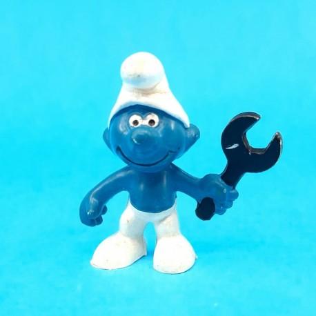 The Smurfs mechanic Smurf second hand Figure (Loose)