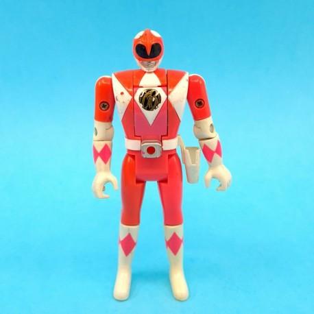 Power Rangers Pink Ranger Flip Head second hand action figure (Loose)