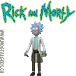 Rick and Morty - Rick figurine articulée