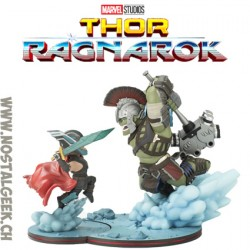 Q-Fig Max Marvel Thor Ragnarok Hulk Vs. Thor Figures