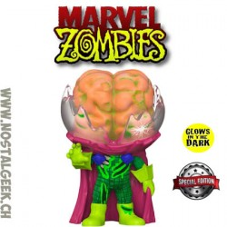 Funko Pop Marvel Mysterio (Marvel Zombies) (Glow in the Dark) GITD Exclusive Vinyl Figure