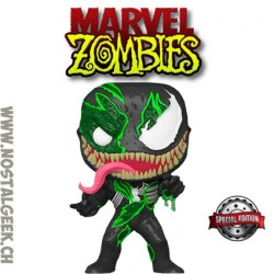 Funko Pop Marvel Zombie Venom Exclusive Vinyl Figure