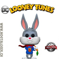 Funko Pop DC Looney Tunes Bugs Bunny as Superman Exclusive Vinyl Figure