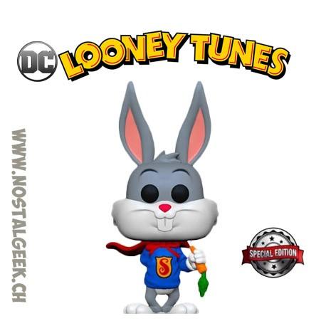 Funko Pop DC Looney Tunes Bugs Bunny as Superman Exclusive Vinyl Figure