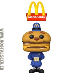 Funko Pop Ad Icons McDonald's Officer Mac Vinyl Figure