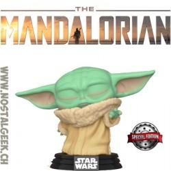 Funko Pop Star Wars The Mandalorian The Child (Force Wielding) Edition Limitée