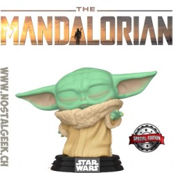 Funko Pop Star Wars The Mandalorian The Child (Force Wielding) Exclusive Vinyl Figure